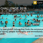 Online game for schools – solve the world's water problems.